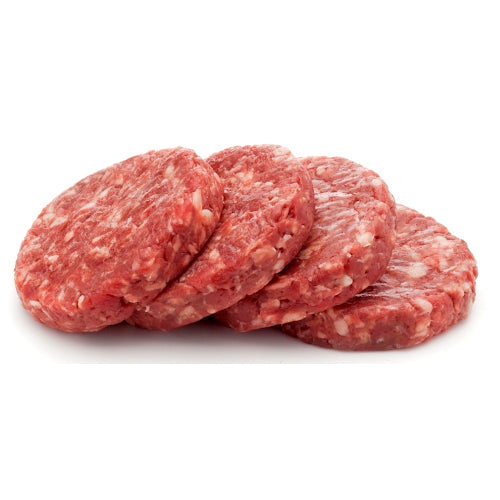 Organic Beef Patties 120g x 4 - TOFS