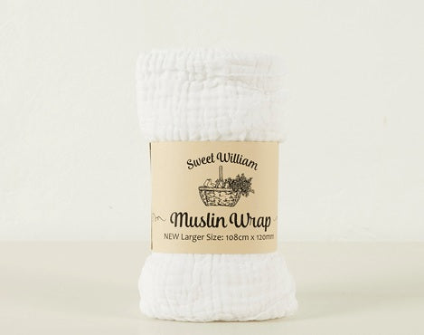 Muslin Wrap Large - Sweet William