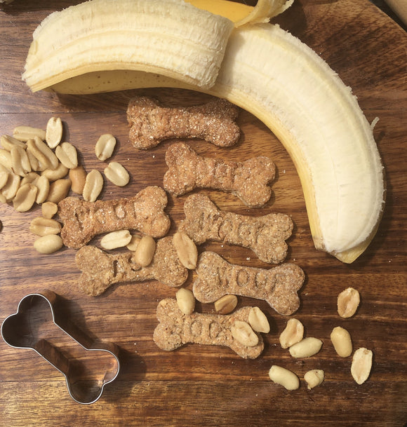 Peanut Butter Crackers 120g - Woofas
