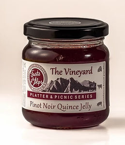 The Vineyard, Pinot Noir Quince Jelly 200ml - Taste of The Alps
