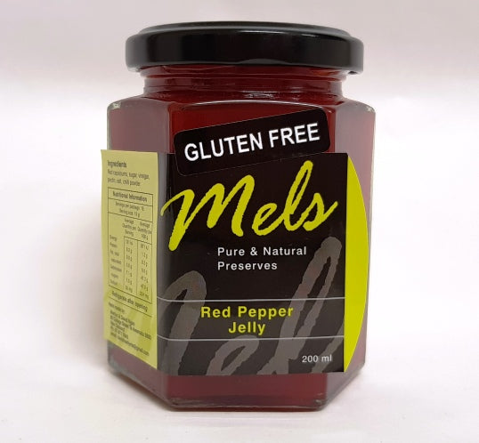 Red Pepper Jelly 250g - Mels