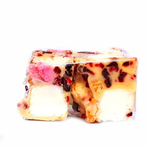 White Chocolate Rocky Road 2pc - Sweet Avenue