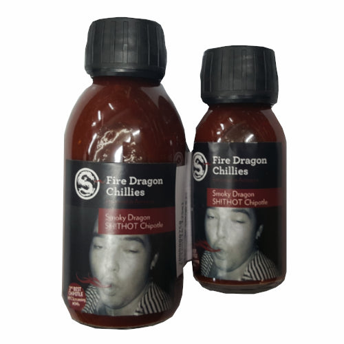 Smoky Dragon SH!THOT Chipotle Sauce - Fire Dragon Chillies