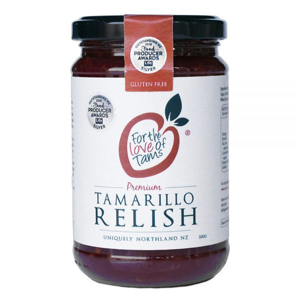 Tamarillo Relish - For the luv of Tams