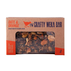 Date & Orange Bar 75g - Crafty Weka Bar