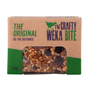 Original Bite Size Bar 40g - Crafty Weka Bar
