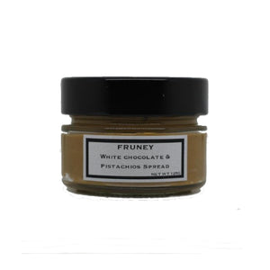 White Chocolate & Pistachio Spread 125g - Fruney