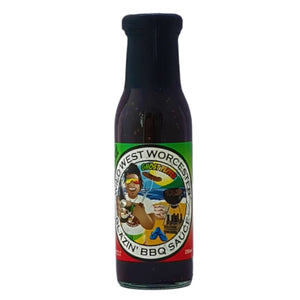 Blazing BBQ Sauce 250ml - Wild West Worcester