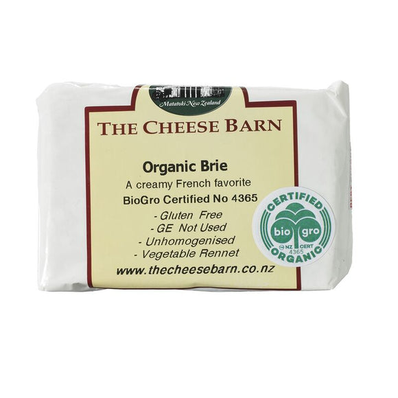 Organic Brie - The Cheese Barn