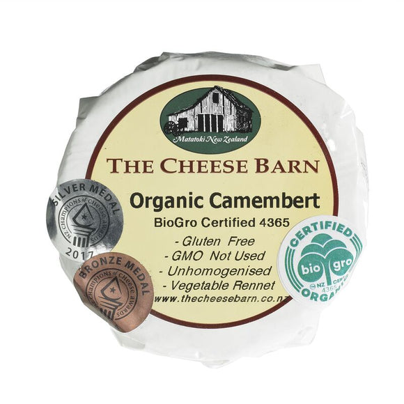 Organic Camembert - The Cheese Barn