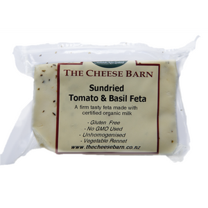 Organic Sun-dried Tomato & Basil Feta - The Cheese Barn