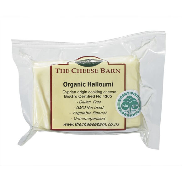 Organic Halloumi - The Cheese Barn