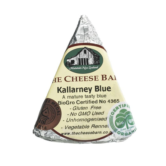 Organic Kallarnay Blue - The Cheese Barn