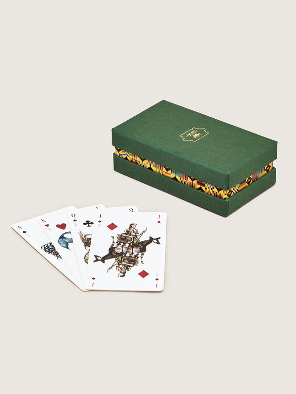 Oracle Playing Cards - Green