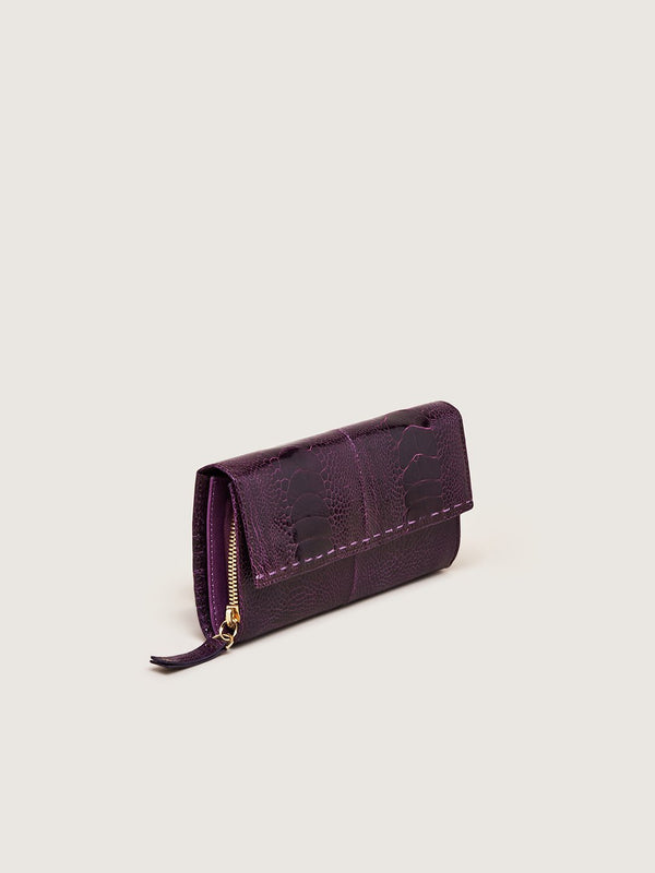 Zip Around Wallet - African Violet