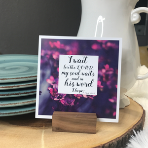Scripture Card Stand