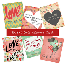 Load image into Gallery viewer, Valentine's Card Set