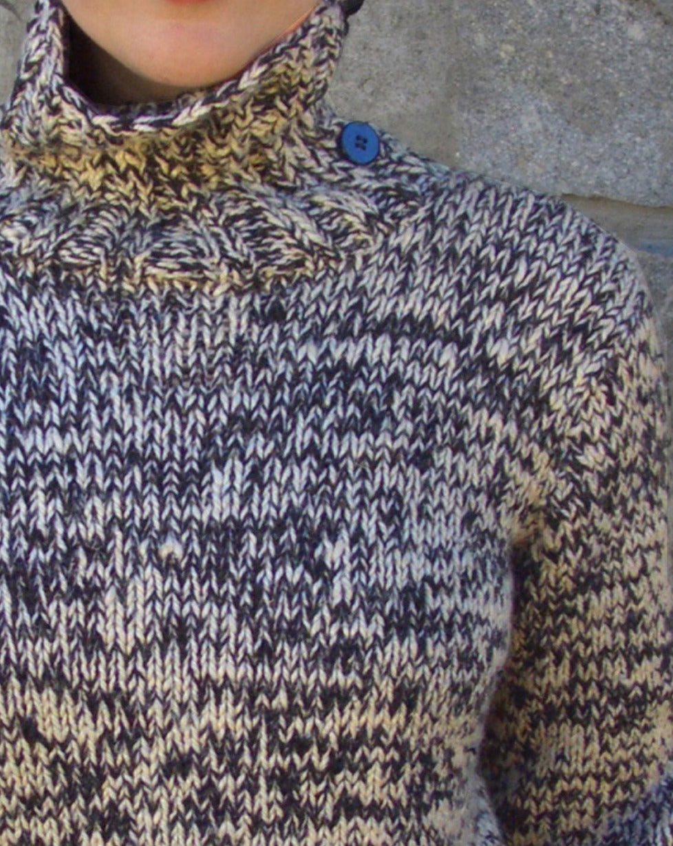 #316 Ragg Yarn Turtleneck