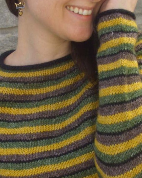 #319  Stripes in Wool Hemp