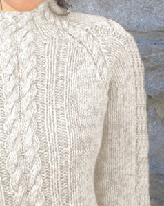#333 Cabled Pullover