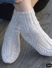 Load image into Gallery viewer, #405 Kathy's Lace Hemp Socks