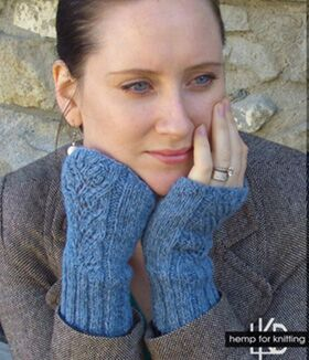 #411 Kathy`s Fingerless Gloves