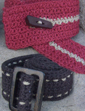 Load image into Gallery viewer, #417 Crochet Belts
