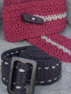 #417 Crochet Belts