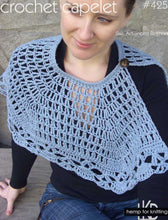 Load image into Gallery viewer, #425 Crochet Capelet