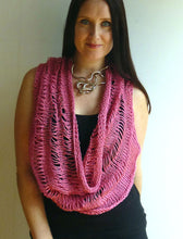 Load image into Gallery viewer, #433 Drop Stitch Capelet Cowl