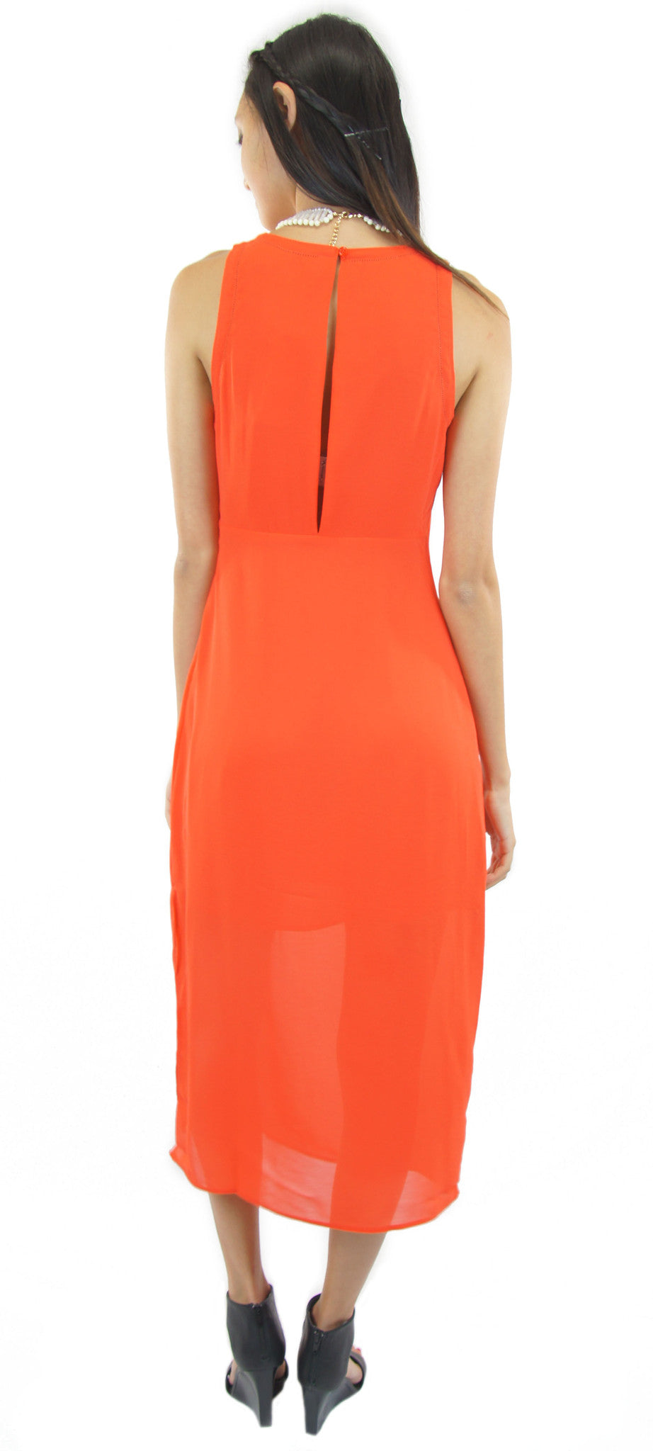 off beat midi dress - klōthe - 2