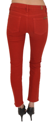 7 for all mankind | slim cigarette (flame red) - klōthe - 2