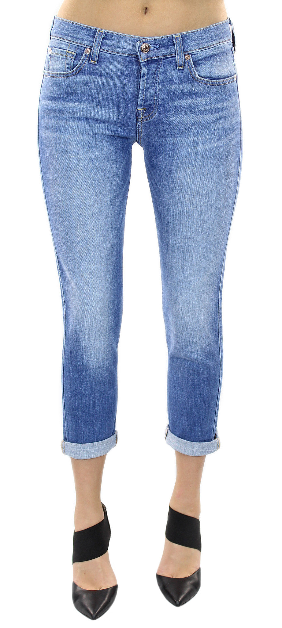 7 for all mankind | josefina vivid authentic blue - klōthe - 1