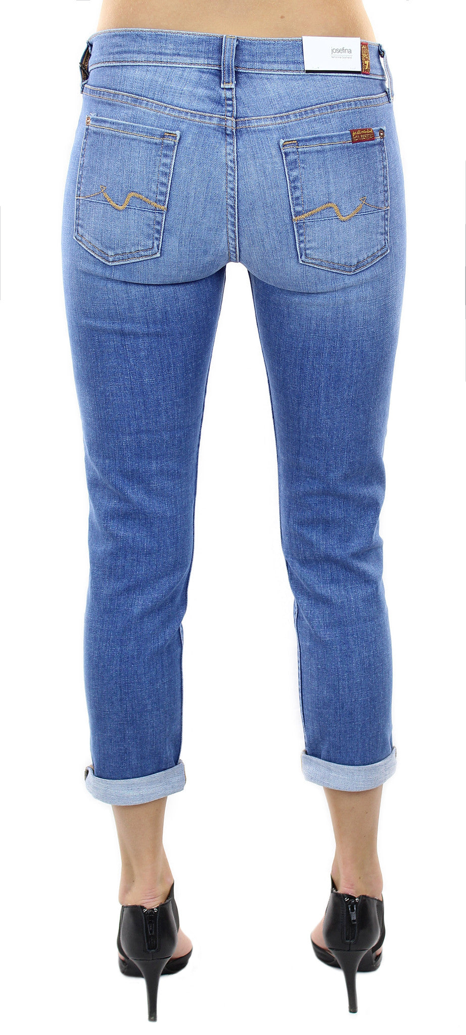 7 for all mankind | josefina vivid authentic blue - klōthe - 2