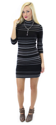 BCBGeneration | striped sweater dress - klōthe - 1
