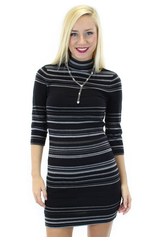 BCBGeneration | striped sweater dress - klōthe - 2