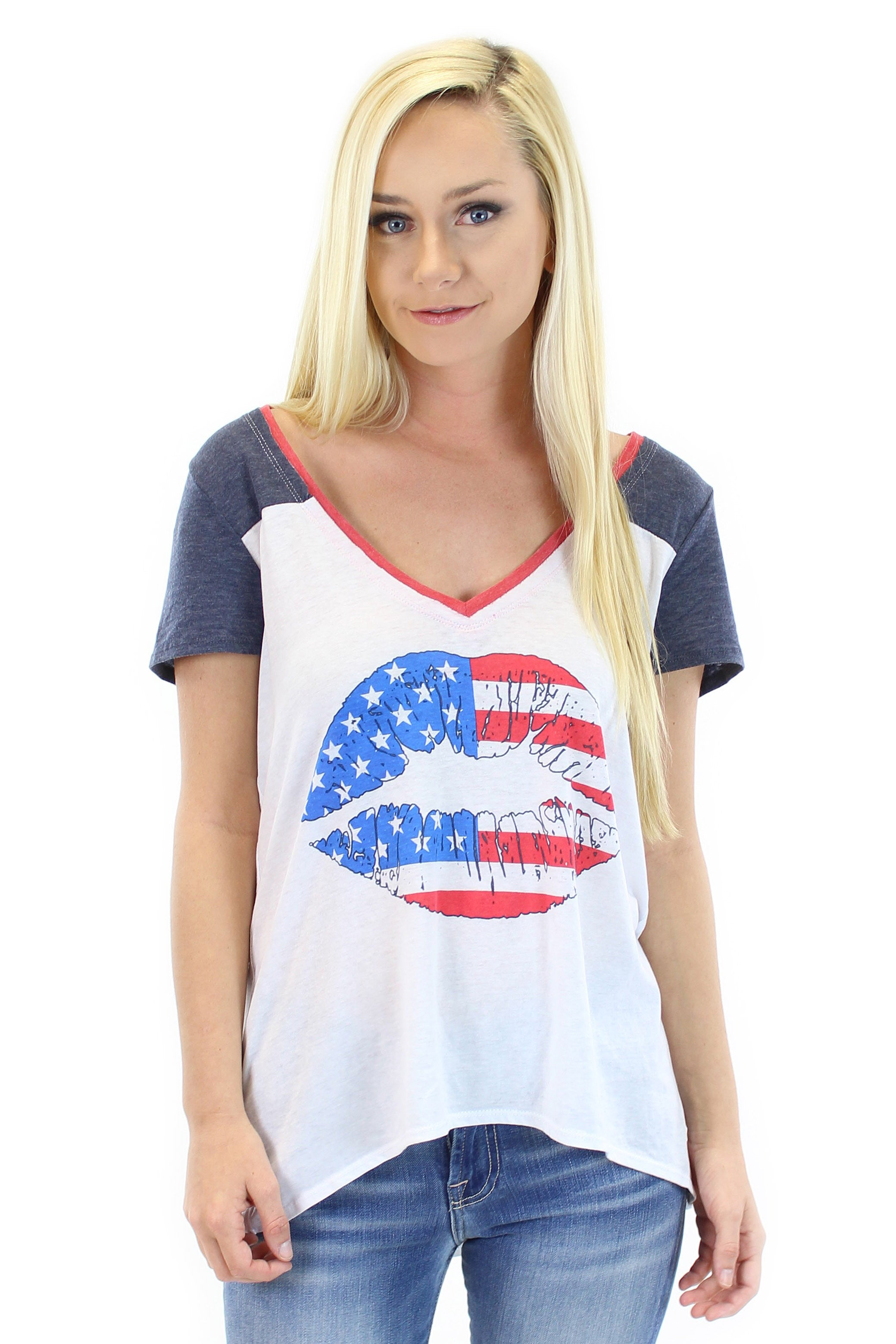 chaser | american kiss graphic tee
