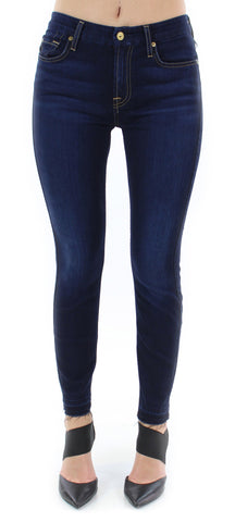 7 for all mankind | b(air) ankle skinny with released hem (tranquil blue) - klōthe - 1