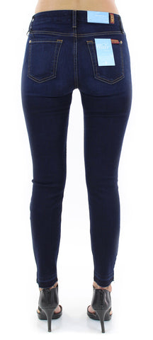 7 for all mankind | b(air) ankle skinny with released hem (tranquil blue) - klōthe - 2