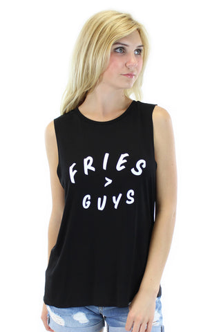 BCBGeneration | fries over guys tank