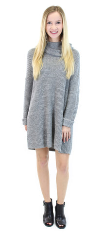 BCBGeneration | cowl-neck sweater tunic - klōthe - 1