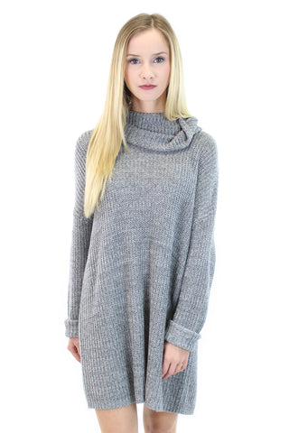 BCBGeneration | cowl-neck sweater tunic - klōthe - 2