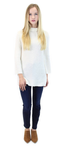 braes mock neck sweater - klōthe - 1