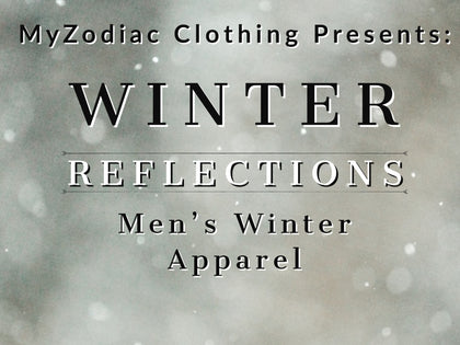 Winter Reflections - Fleece Reflective Hoodies For Men