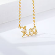 Leo - Crystal Zodiac Necklace