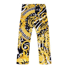 Load image into Gallery viewer, Gold & Black Baroque Leggings