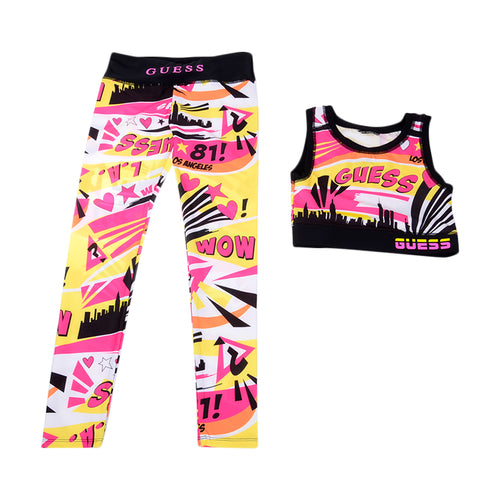 Pink Pop Art Sports Set