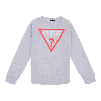 Grey Triangle Sweat Top