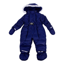 Load image into Gallery viewer, Navy Belted Snowsuit