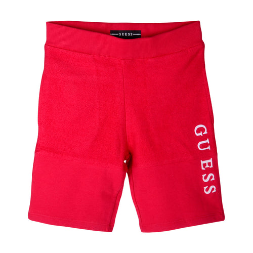 Red Guess Sweat Shorts